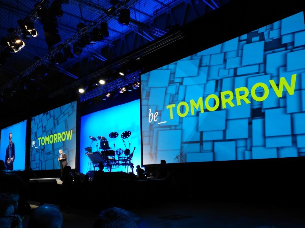 Pat Gelsinger, CEO de VMware, durante la keynote inaugural del VMworld 2016