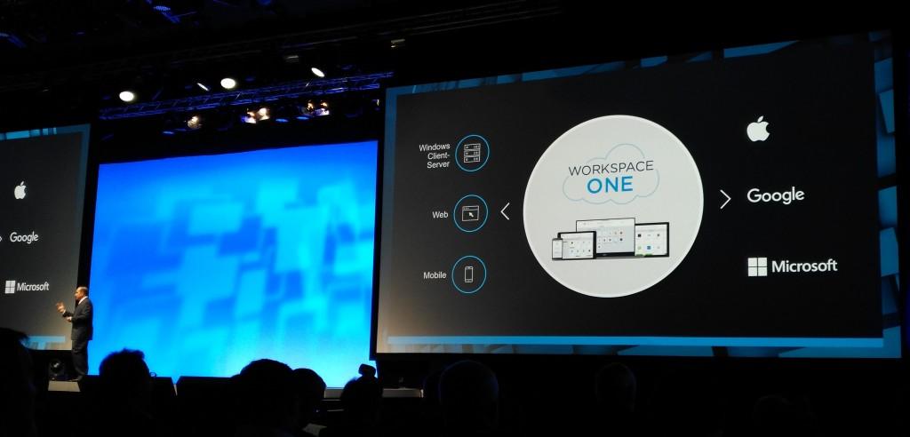 Sanjay Poonen, vicepresidente ejecutivo y director general de End-User Computing de VMware, explicaba la importancia de gestionar de forma unificada cualquier tipo de aplicación desde cualquier dispositivo dentro de su estrategia End-User Computing