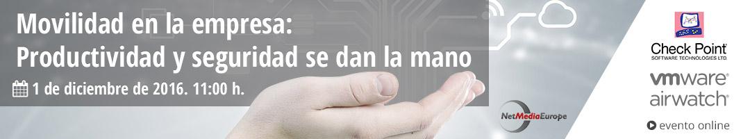 Evento online Movilidad en la empresa: Productividad y seguridad se dan la mano