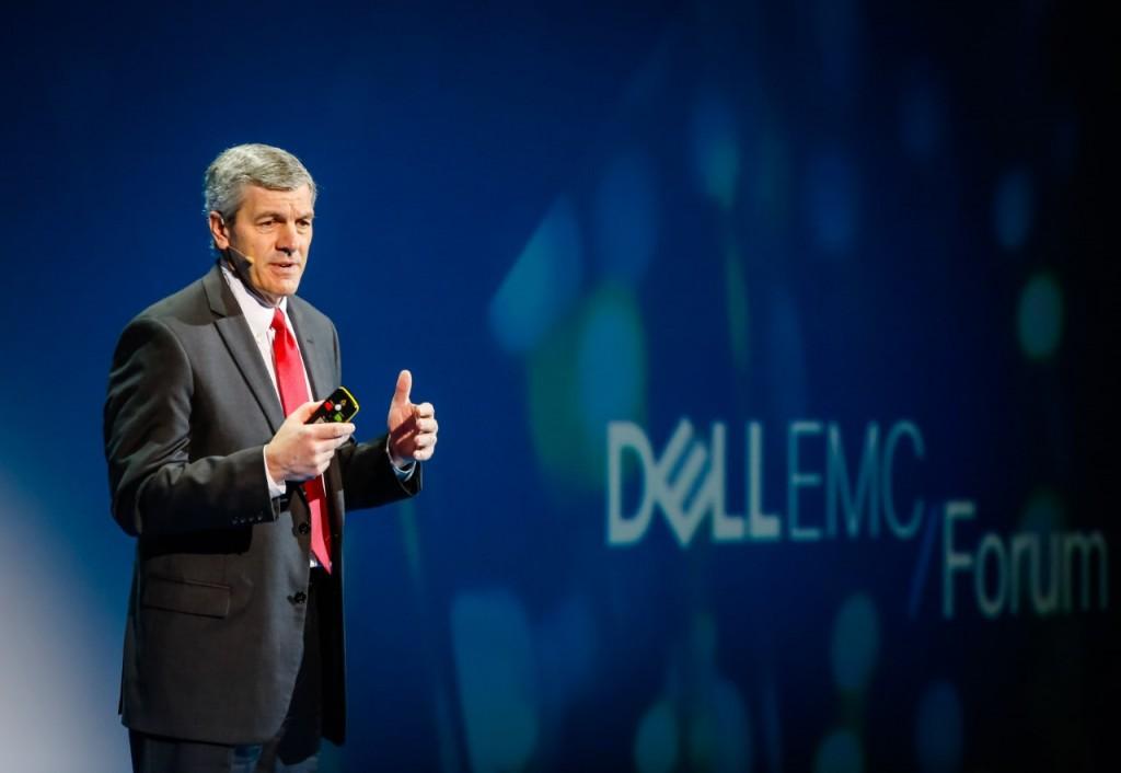 Kevin Roche, presidente de Dell EMC Services