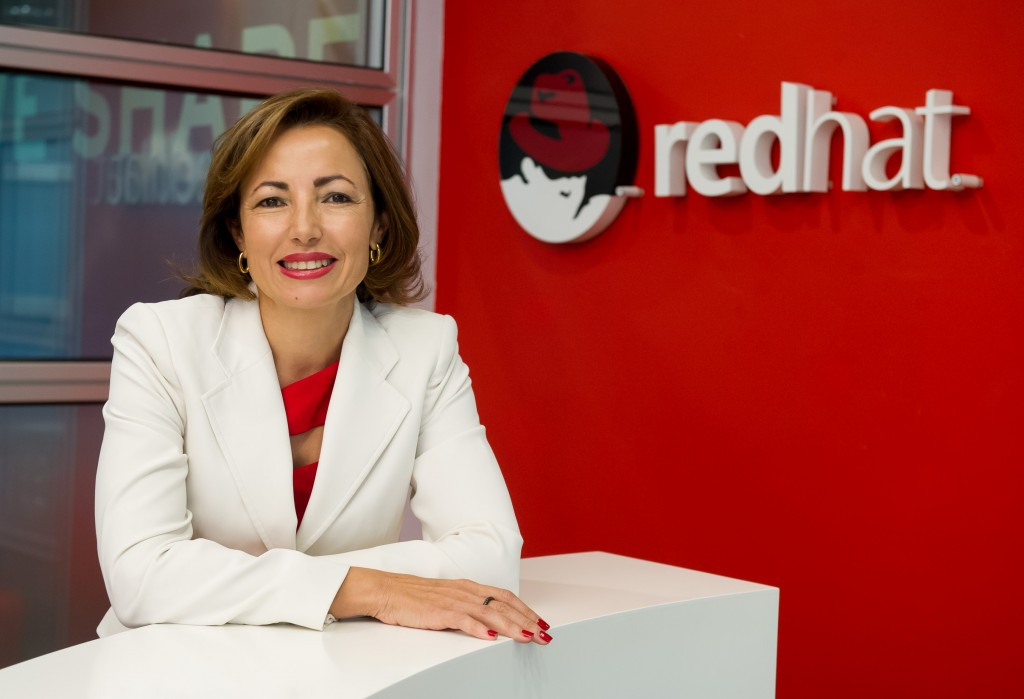 Julia Bernal, directora general de Red Hat Iberia