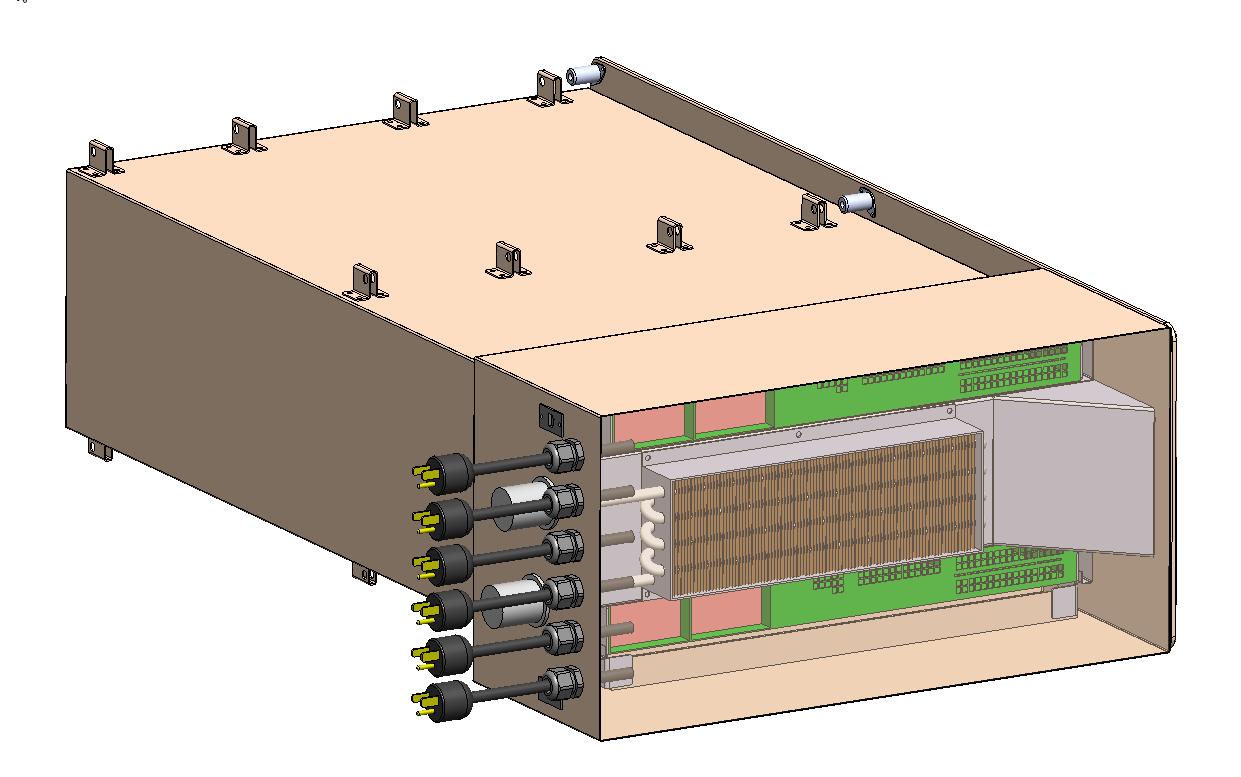 Diseño previo del aspecto que tiene el supercomputador HPE Spaceborne