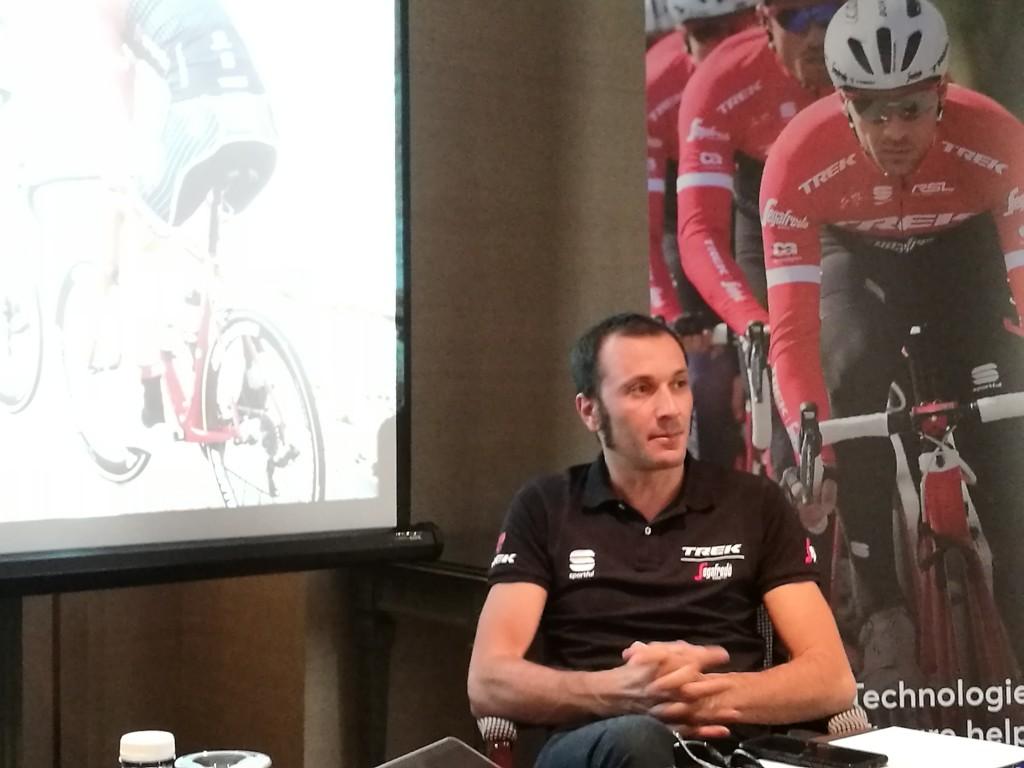 Ivan Basso, doble ganador del Giro de Italia