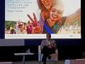 Bill Gadja, vicepresidente de innovación de Visa, durante la presentación de la encuesta