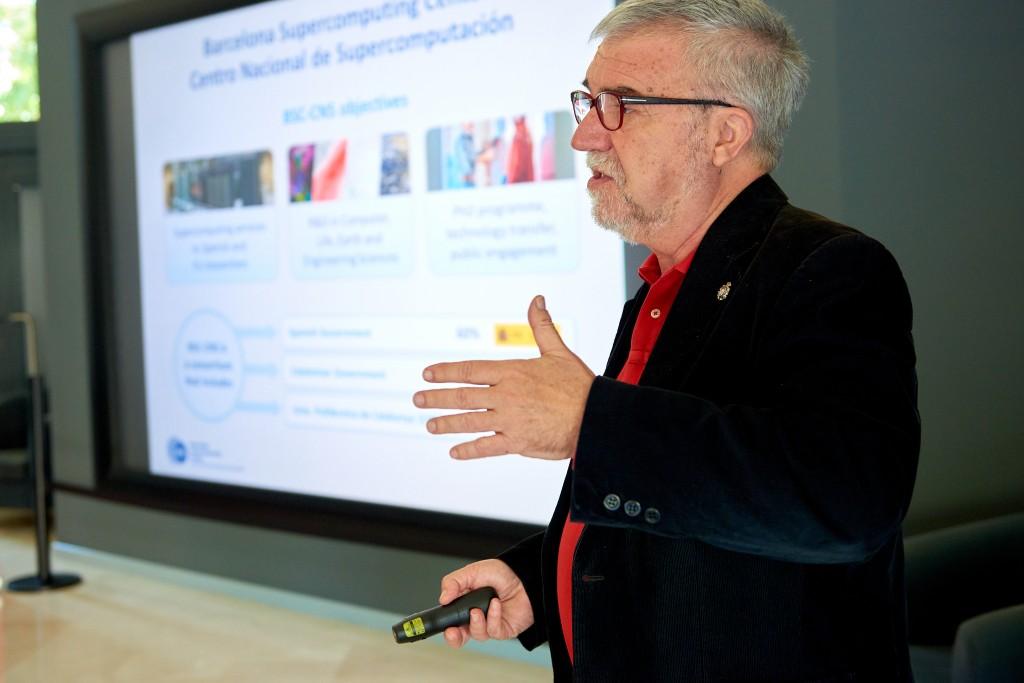 Mateo Valero, director del BSC