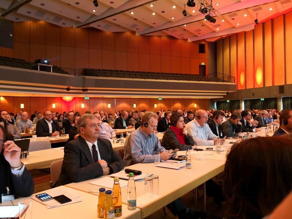 Más de 400 profesionales se dieron cita en el palacio de congresos de Böblingen, cerca de Stuttgart, para asistir a Compartirg 2017