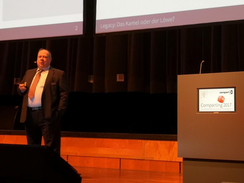 Harald Grumser, CEO de Compart