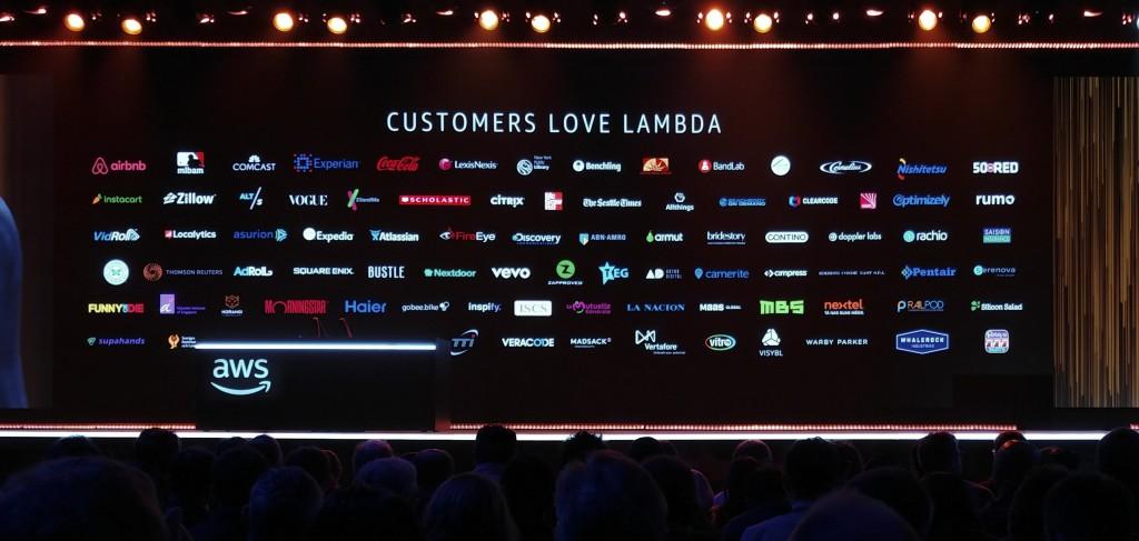 clientes de lambda en AWS