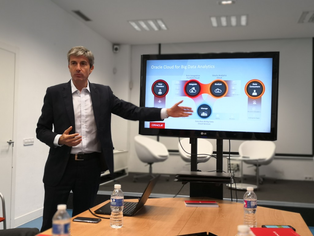 Para Jordi Simón, responsable de ventas de Analytics y Big Data de Oracle Ibérica