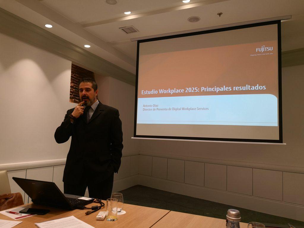 Antonio Díaz, director de preventa de Digital Workplace en Fujitsu España
