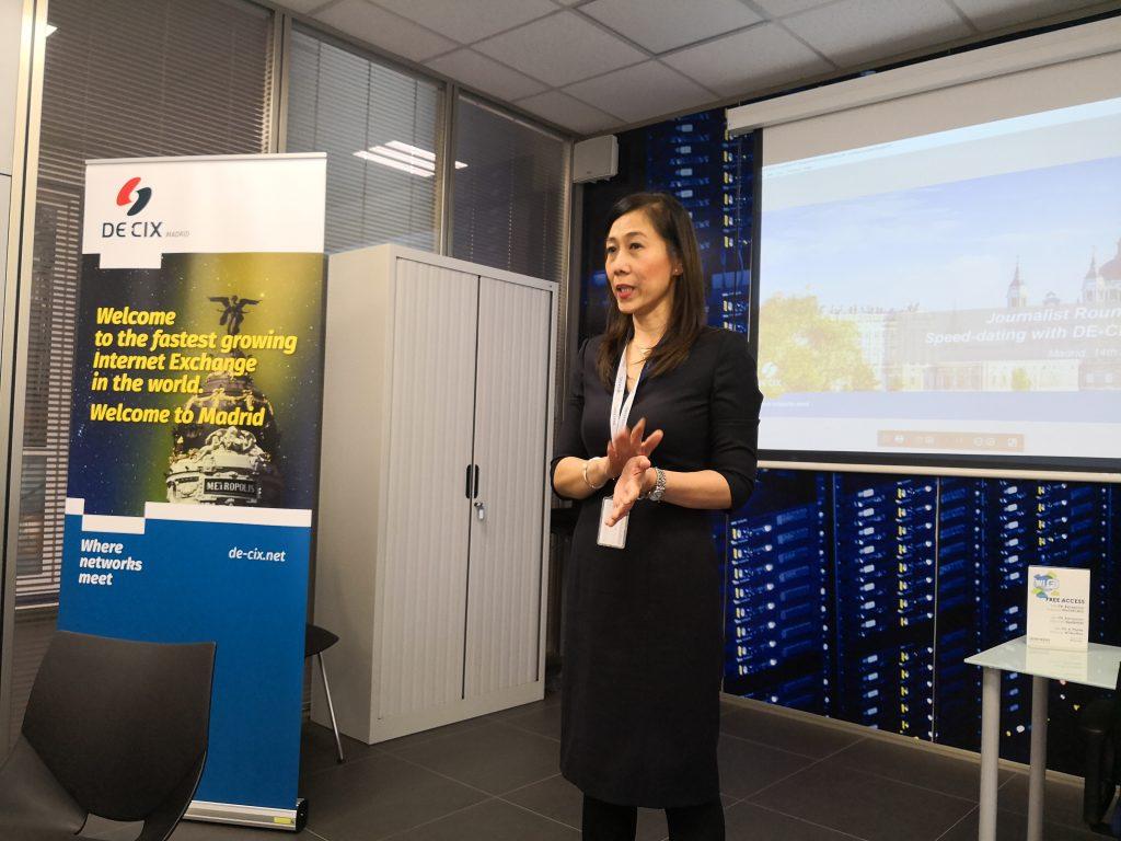 Theresa Bobis, directora regional de DE-CIX para el Sur de Europa