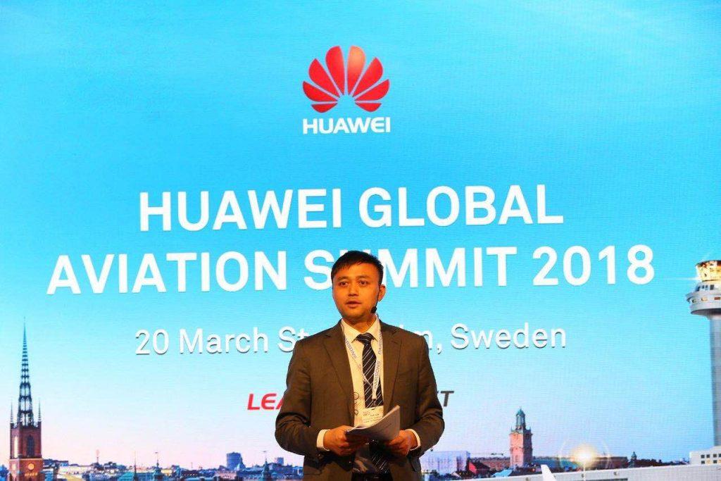 Yuan Xilin, presidente del Sector de Transporte de Huawei Empresas
