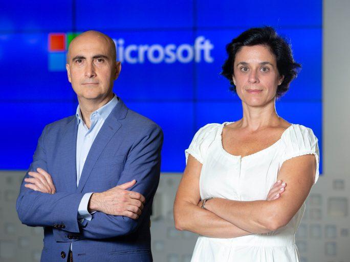Gloria Macias_Directora Grandes Empresas Microsoft- Jesús Galinddo_Director Sector Público Microsoft Jesús-Galinddo_Director-Sector-Público-Microsoft