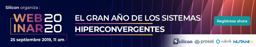 Webinar: 2020, el gran año de los sistemas hiperconvergentes