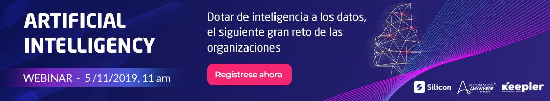 Webinar: Dotar de inteligencia a los datos, el siguiente gran reto de las organizaciones