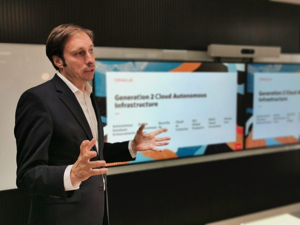 Francisco Romero Portales, Country Leader de Tecnología de Oracle en España