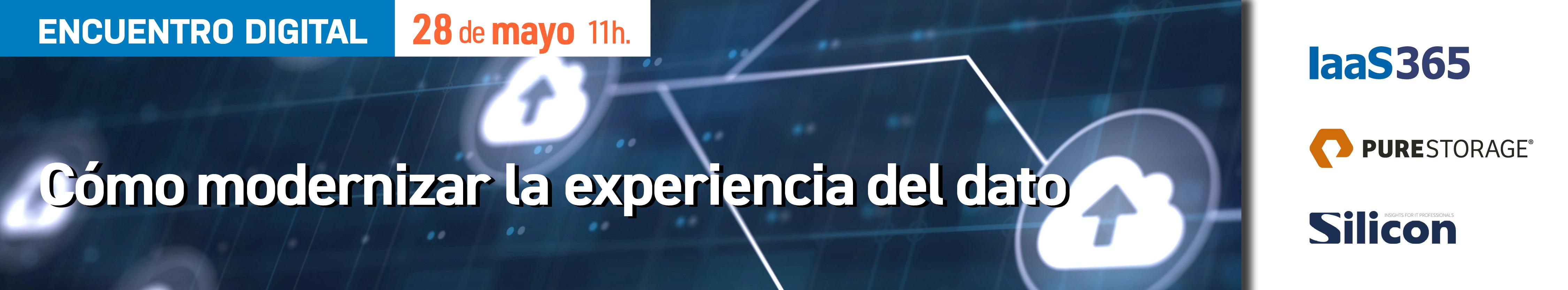 Encuentro digital: Cómo modernizar la experiencia del dato