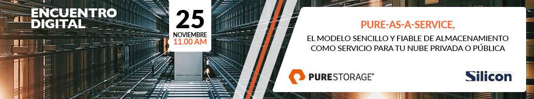 Pure-as-a-Service, el modelo sencillo y fiable de almacenamiento como servicio para tu nube privada o pública