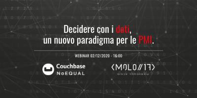 Decidere con i dati, un nuovo paradigma per le PMI: L'iscrizione è stata completata!