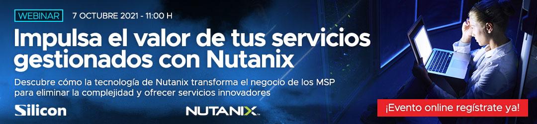 Impulsa el valor de tus servicios gestionados con Nutanix